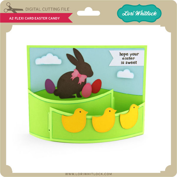 A2 Flexi Card Easter Candy