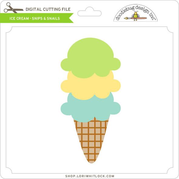 Ice Cream - Snips & Snails