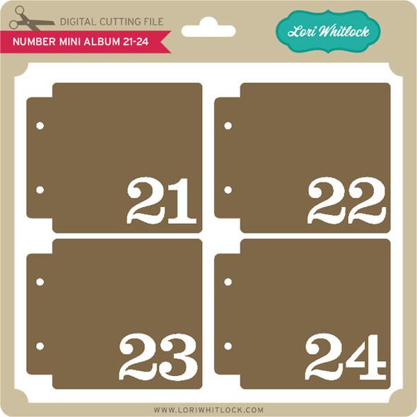 Number Mini Album 21-24