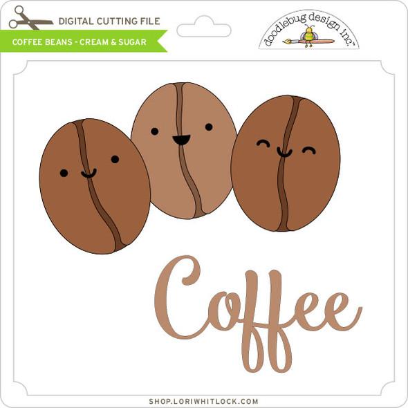 Coffee Beans - Cream & Sugar