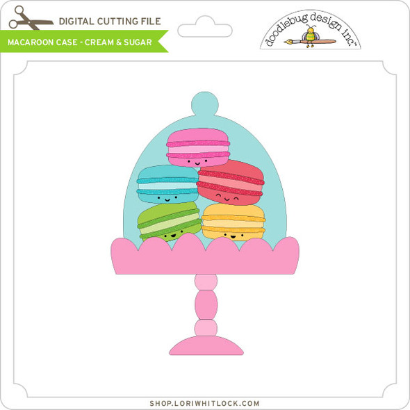 Macaroon Case - Cream & Sugar