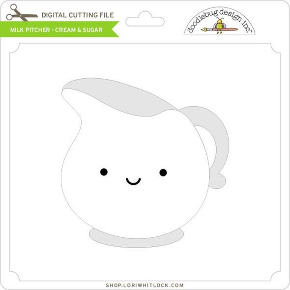 Milk Pitcher - Cream & Sugar