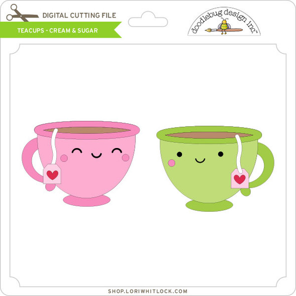 Teacups - Cream & Sugar