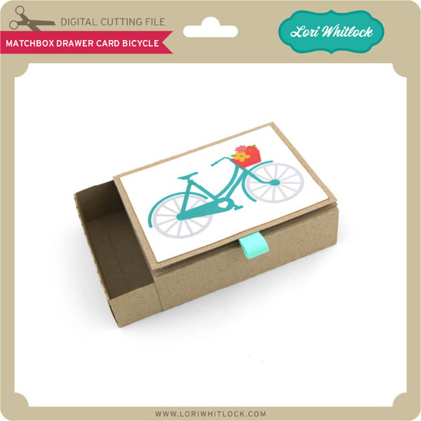 Matchbox Drawer Card Bicycle