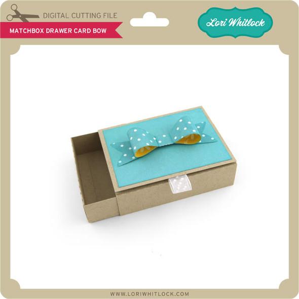 Matchbox Drawer Card Bow
