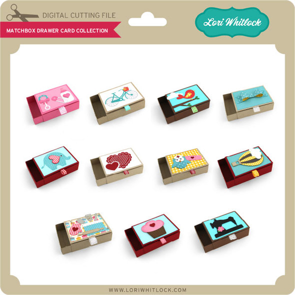 Matchbox Drawer Card Collection
