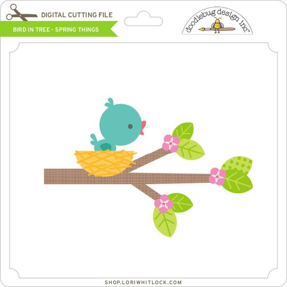 Bird In Tree - Spring Things