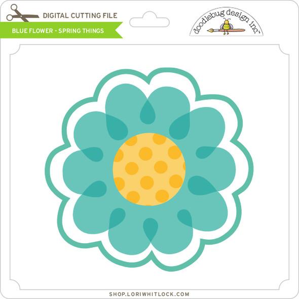 Blue Flower - Spring Things