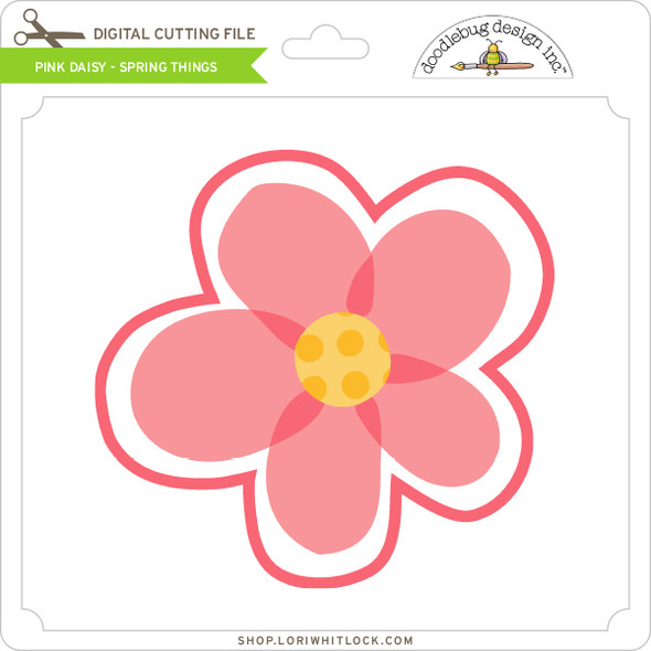 Pink Daisy - Spring Things