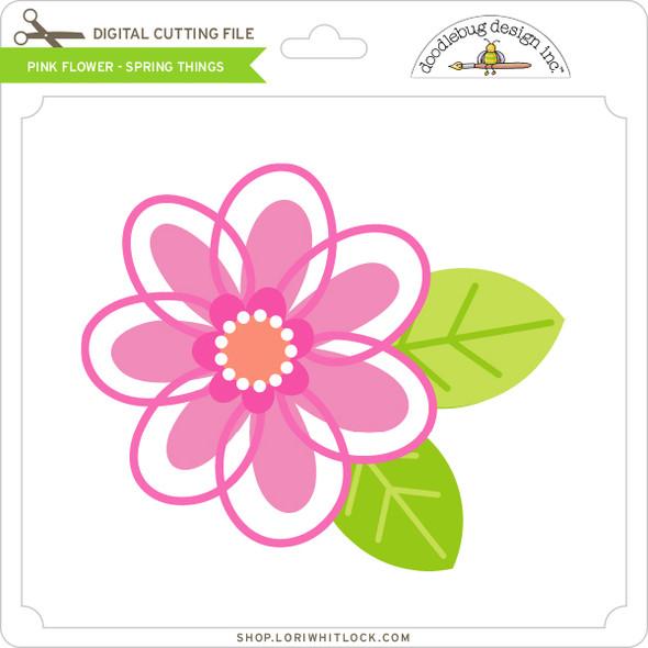 Pink Flower - Spring Things