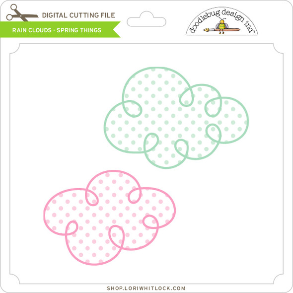 Rain Clouds - Spring Things