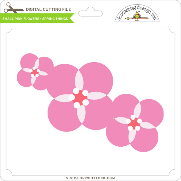 Small Pink Flowers - Spring Things