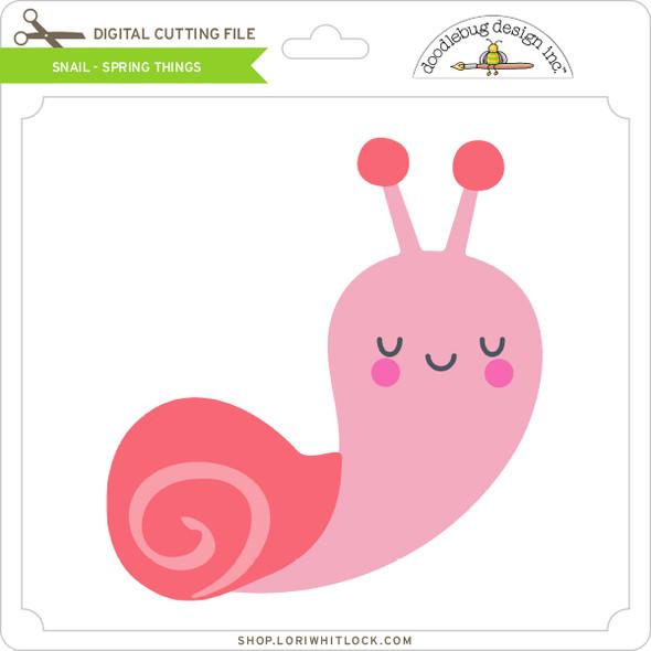Snail - Spring Things