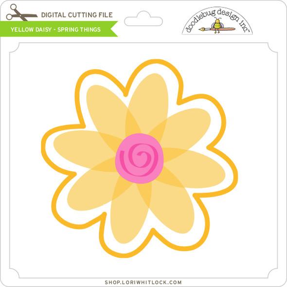 Yellow Daisy - Spring Things