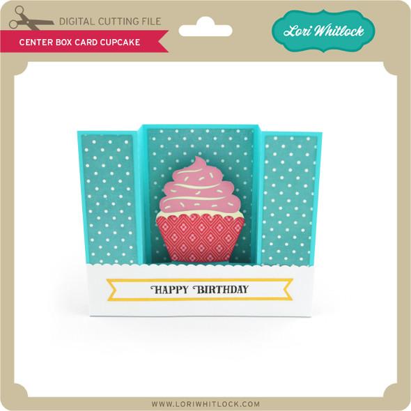 Center Box Card Cupcake