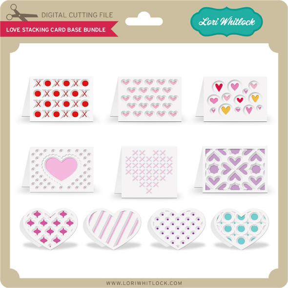 Love Stacking Card Base Bundle