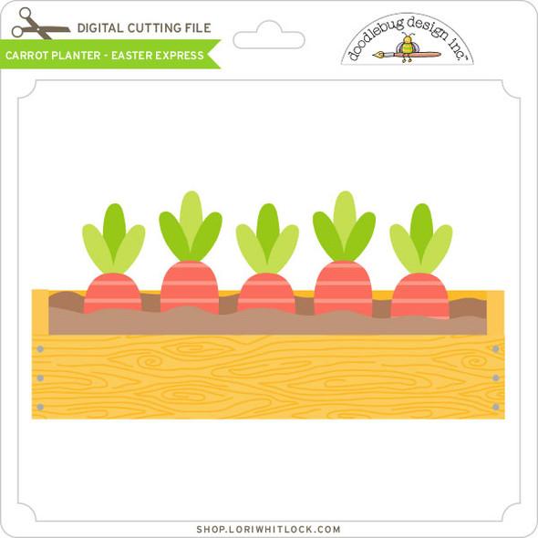 Carrot Planter - Easter Express