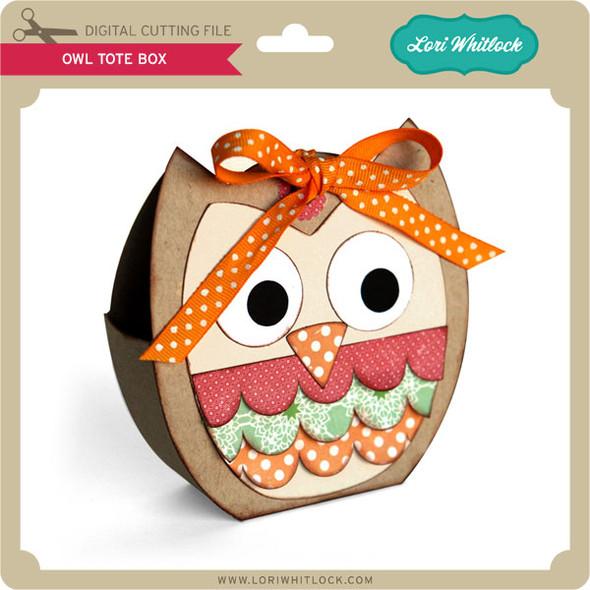 Owl Tote Box