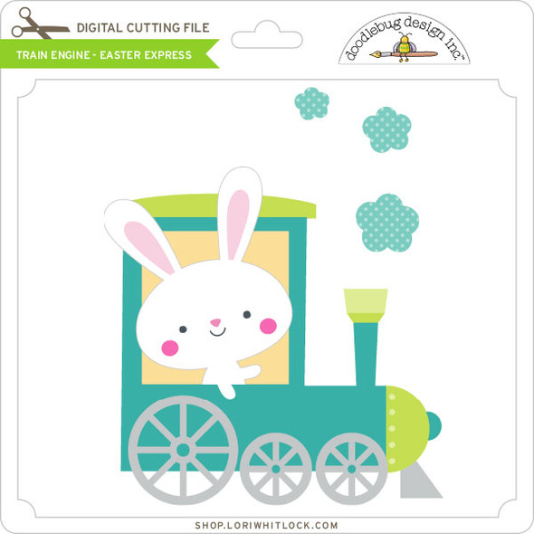 Train Engine - Easter Express