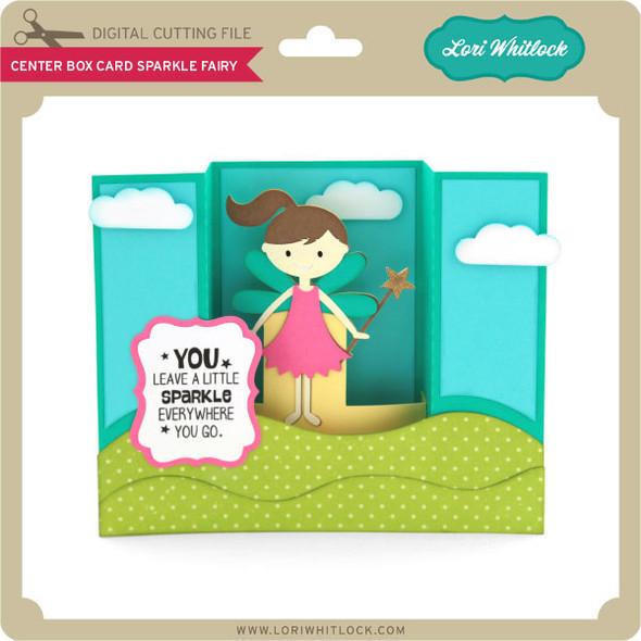 Center Box Card Sparkle Fairy