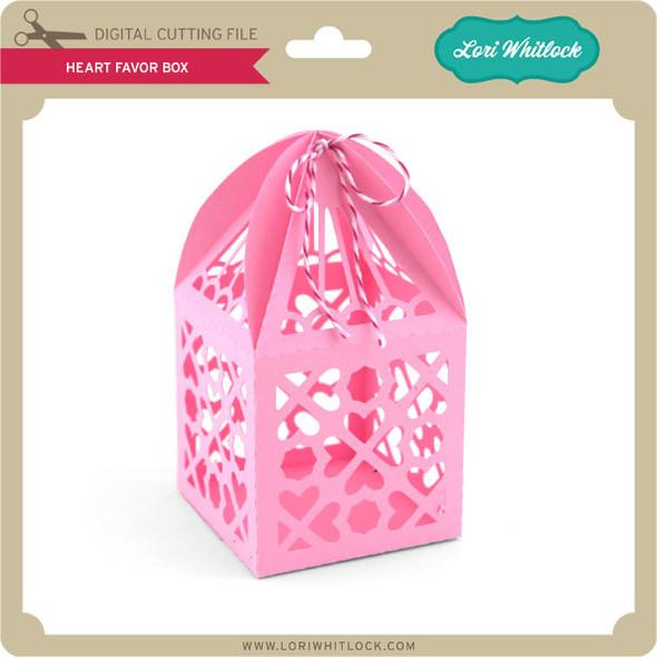 Heart Favor Box