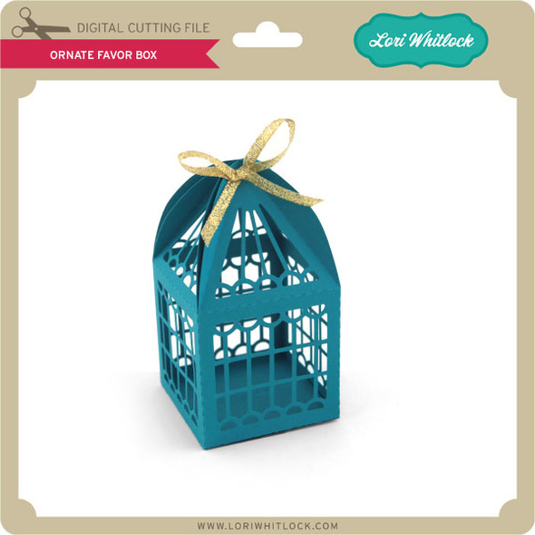 Ornate Favor Box