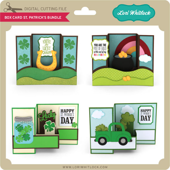 Box Card St Patrick's Bundle