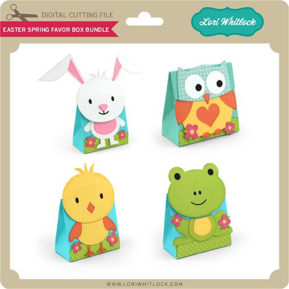 Easter Spring Favor Box Bundle