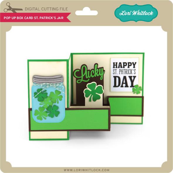 Pop Up Box Card St Patrick's Jar