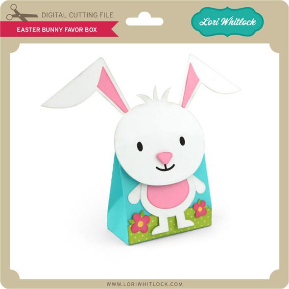 Easter Bunny Favor Box 2