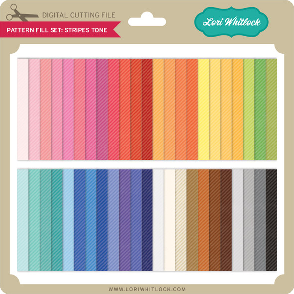 Pattern Fill Set Stripe Tone