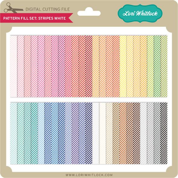 Pattern Fill Set Stripe White