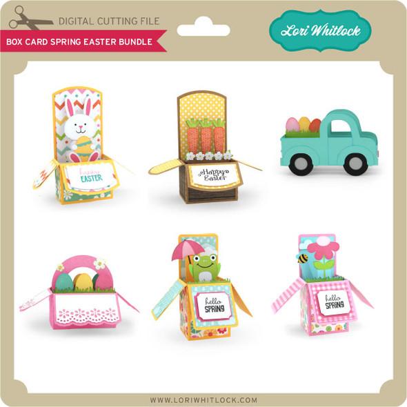 Box Card Spring Easter Bundle