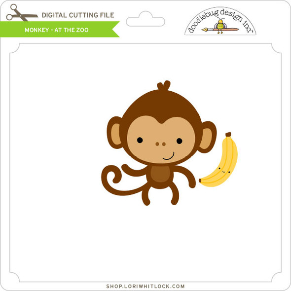Monkey - At The Zoo