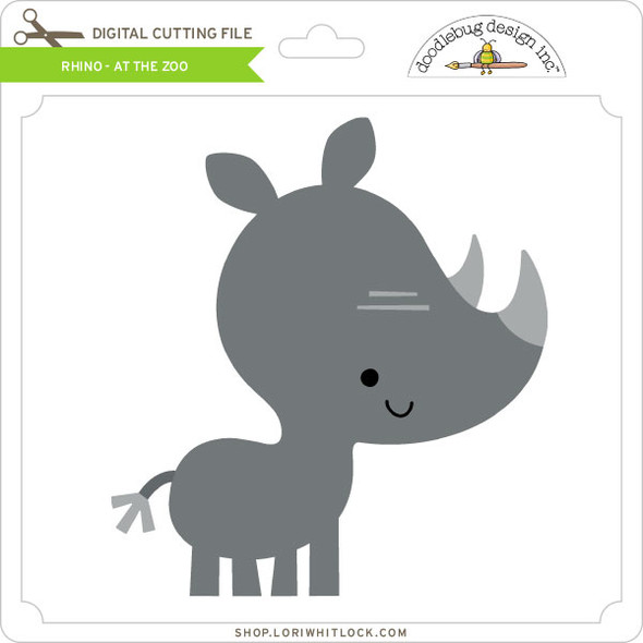 Rhino - At The Zoo