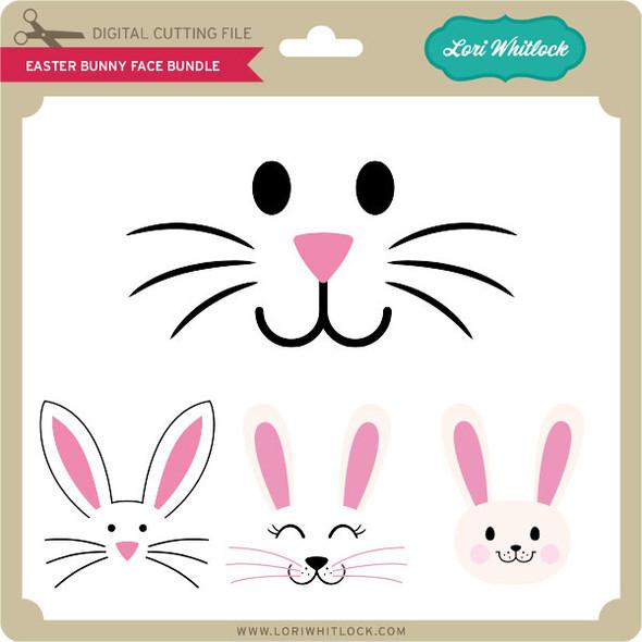 Easter Bunny Face Bundle