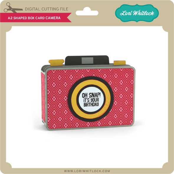 A2 Shaped Box Card Camera