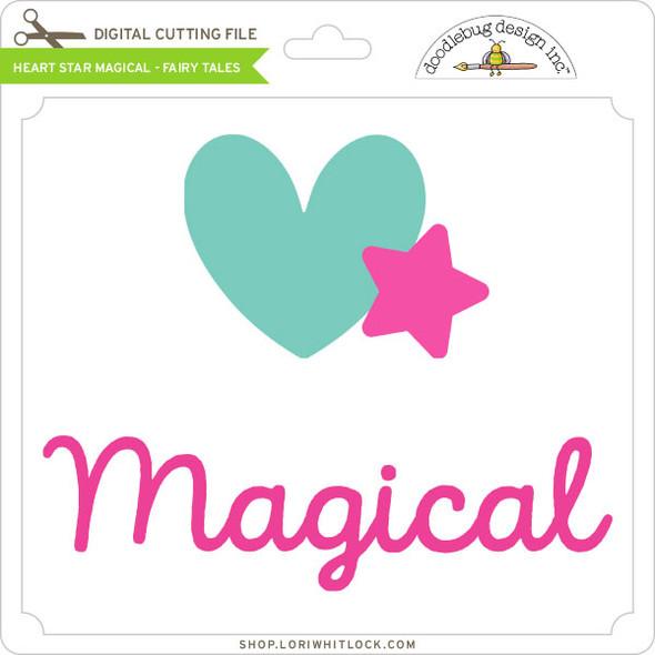 Heart Star Magical Fairy Tales