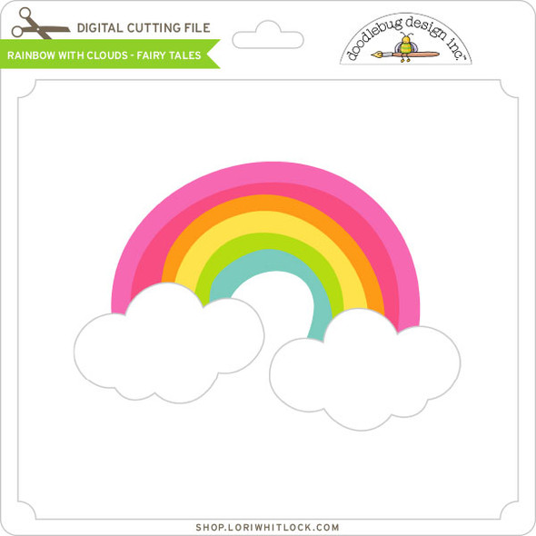 Rainbow With Clouds Fairy Tales