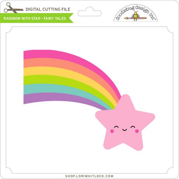 Rainbow With Star Fairy Tales