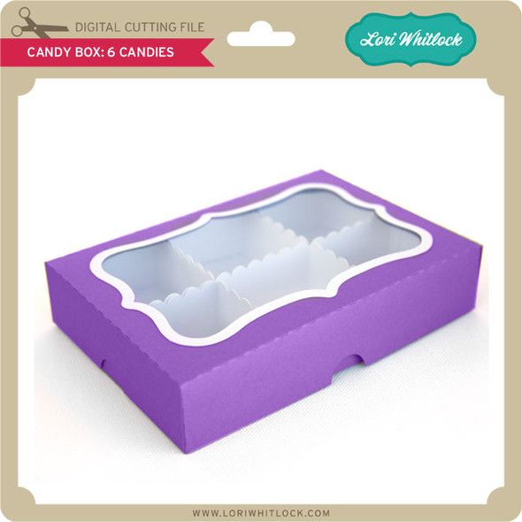 Candy Box 6 Candies