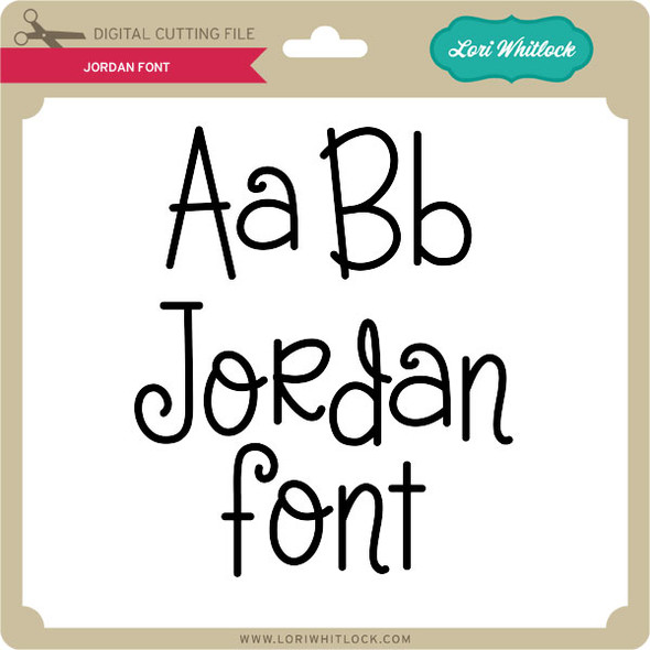 Jordan Font