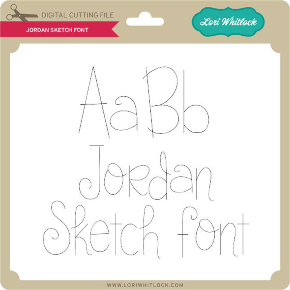 Jordan Sketch Font