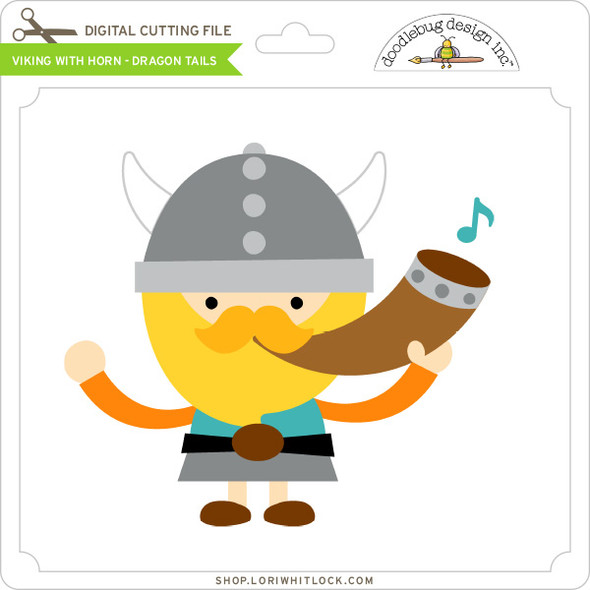 Viking With Horn - Dragon Tails