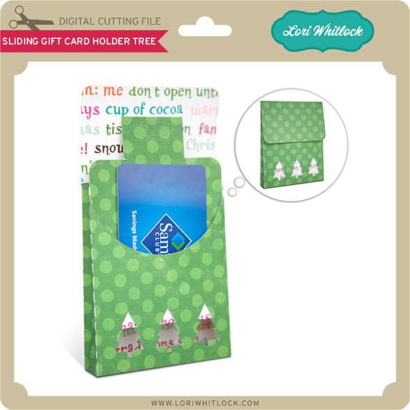 Sliding Gift Card Holder Tree