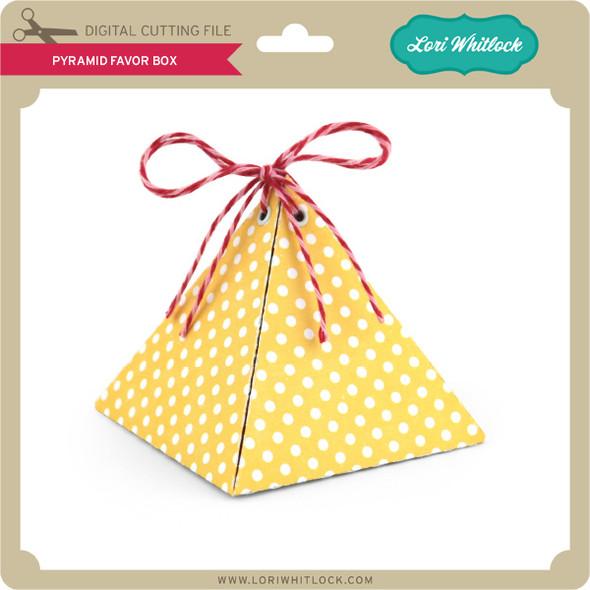 Pyramid Favor Box
