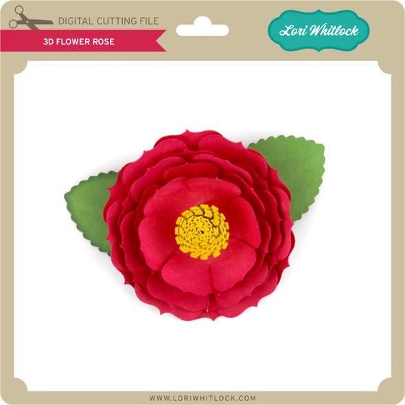 3D Flower Rose