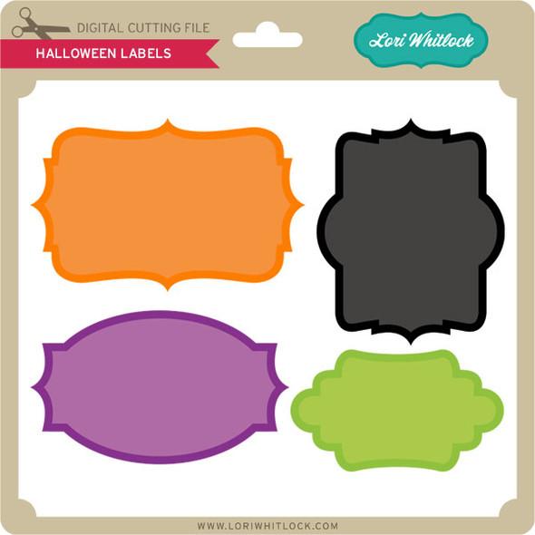 4 Halloween Labels