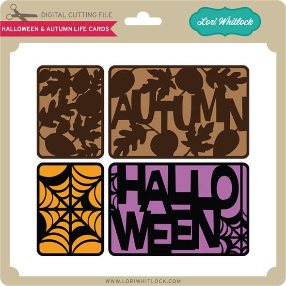 Halloween and Autumn Life Cards