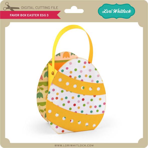 Favor Box Easter Egg 3